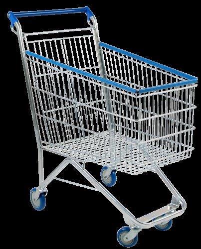 Carrinho para compras de condomínio