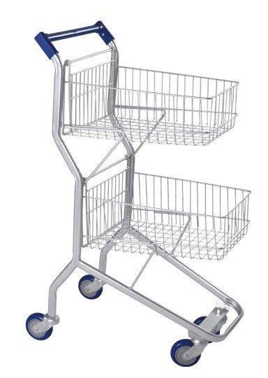 Carrinho de compras para condomínio preço