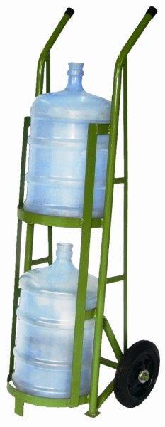 Carrinho para carregar galões de água