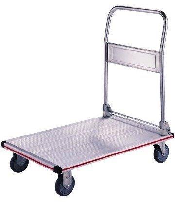 Carrinho plataforma em alumínio
