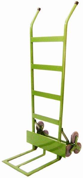 Carrinho sobe escada