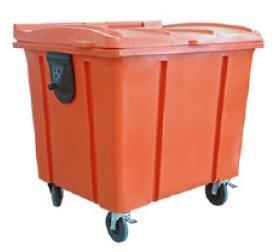 Carrinho para transporte de lixo