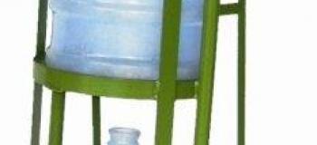 Carrinho para transporte de galões de água