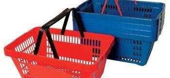Fabrica de cestas para supermercado