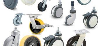 Rodas e rodízios para carrinhos